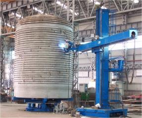 反應釜外盤管焊接情形